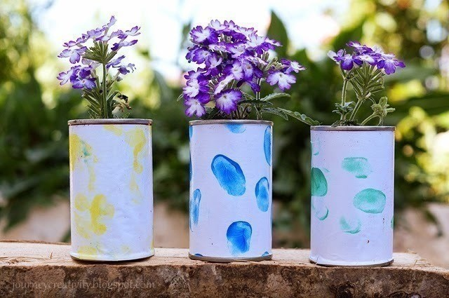 Flower jars and pots